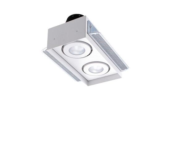 Quad Maxi 4 di L&L Luce&Light | Lampade soffitto incasso