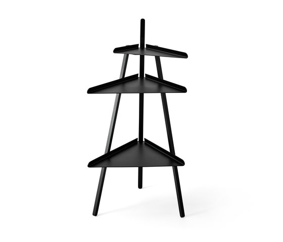 Trio black by Karakter Copenhagen | Side tables