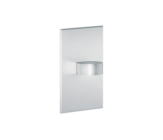 L11 | matte chrome by MP Lighting | Recessed wall lights