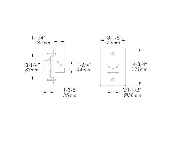 L13 | matte chrome by MP Lighting | Emergency lights