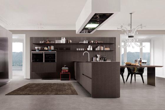 Antis FiloAntis33 Filo Free Steel von Euromobil | Einbauküchen