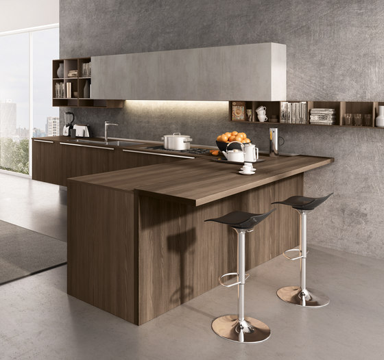 Lain Multisystem by Euromobil | Fitted kitchens