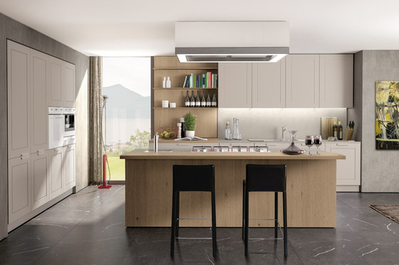 Quadrica by Euromobil | Fitted kitchens