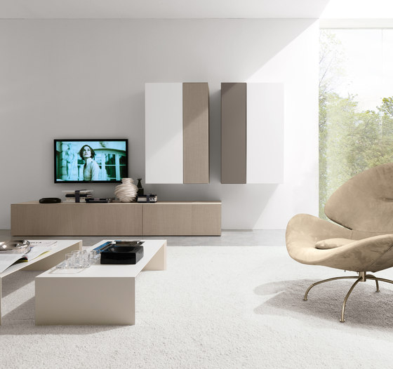 Living E45 comp.040 by Euromobil | Wall storage systems