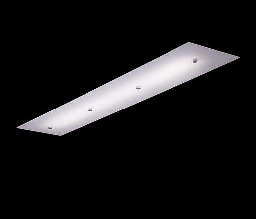 Peg Linear Flush di The American Glass Light Company | Lampade plafoniere