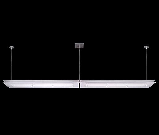 Juhl Linear System de The American Glass Light Company | Éclairage général