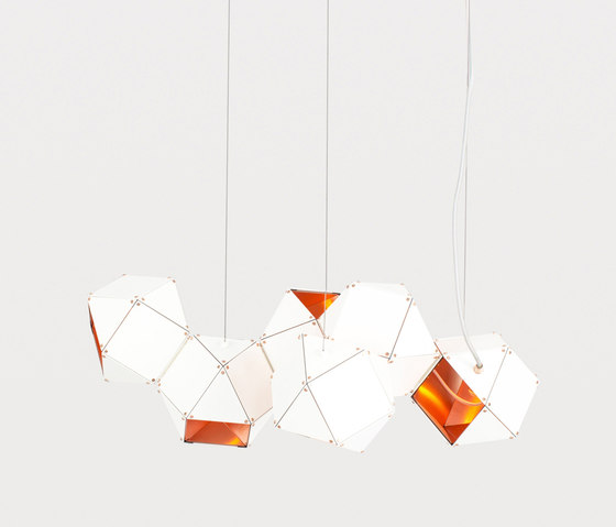 WELLES Long Chandelier by Gabriel Scott | General lighting