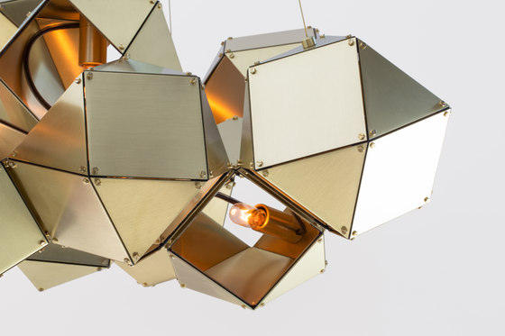 WELLES Central Chandelier by Gabriel Scott | Suspended lights