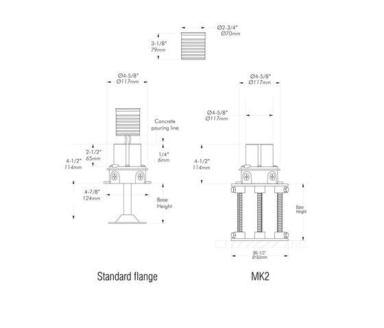 L352 | stainless steel de MP Lighting | Spots