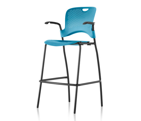Caper Stacking Stool de Herman Miller | Taburetes de bar