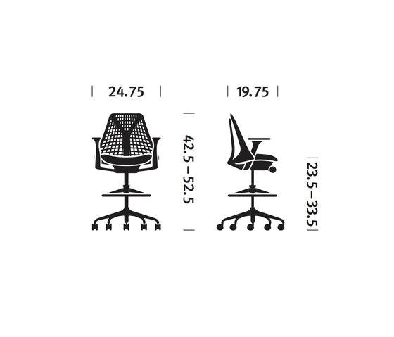 Sayl Stool de Herman Miller | Taburetes de oficina