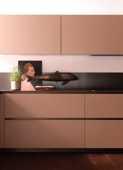 EØ Light von Effeti Industrie SRL | Einbauküchen