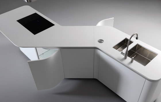 Sinuosa von Effeti Industrie SRL | Einbauküchen
