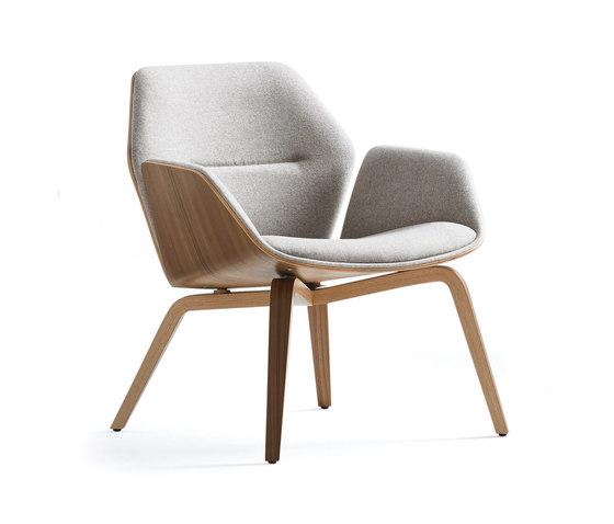 Ginkgo Lounge Low Back di Davis Furniture | Poltrone lounge