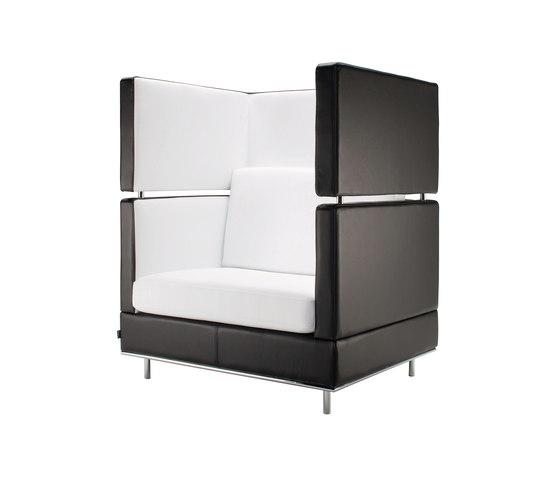 Inkoo Pro High | 1 ½ person sofa von Isku | Lounge-Arbeits-Sitzmöbel