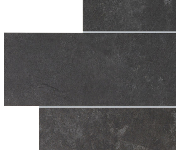 Stonework ardesia nera muretto by Ceramiche Supergres | Ceramic tiles