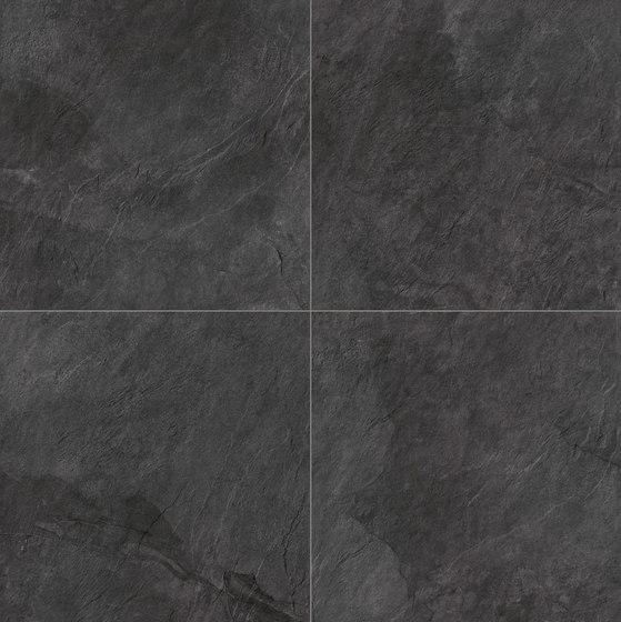 Stonework ardesia nera 60x60 di Ceramiche Supergres | Piastrelle ceramica