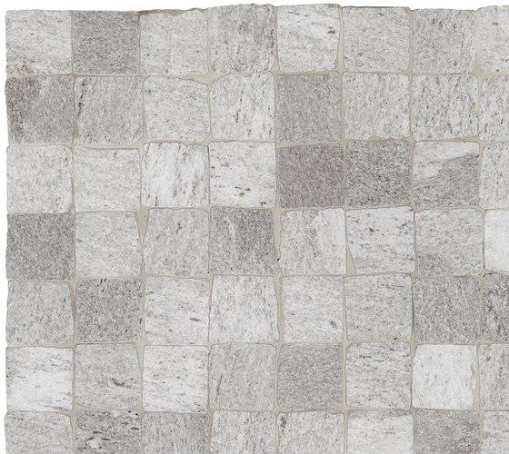 Stonework beola mosaico burattato by Ceramiche Supergres | Ceramic tiles