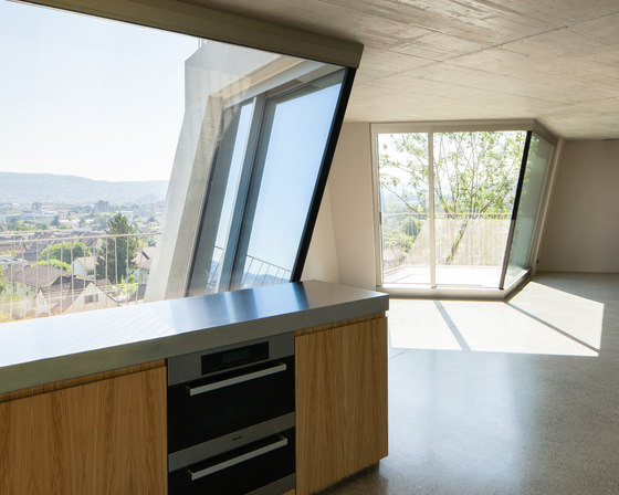 Sliding window-slanted by air-lux | Window types