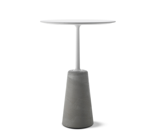 Rock Table by MDF Italia | Standing tables