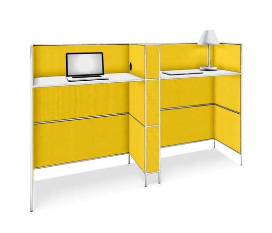 Bosse Micro workstation de Bosse Design | Sistemas de oficina