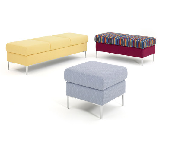 Oasis Seating by Herman Miller | Waiting area benches