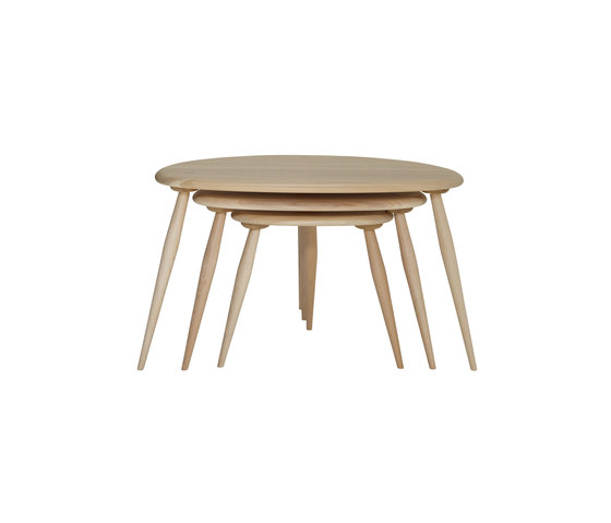 Originals nest of tables de ercol   Mesas auxiliares