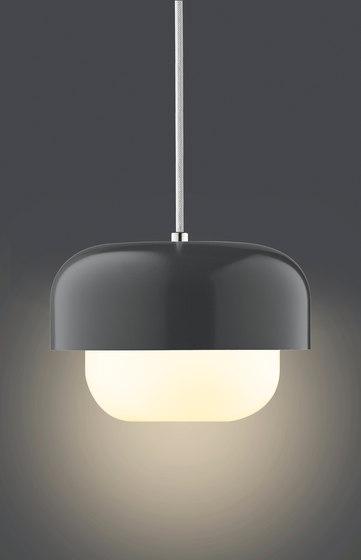 Haipot Pendant | Back Burn Smoke by DybergLarsen | Suspended lights