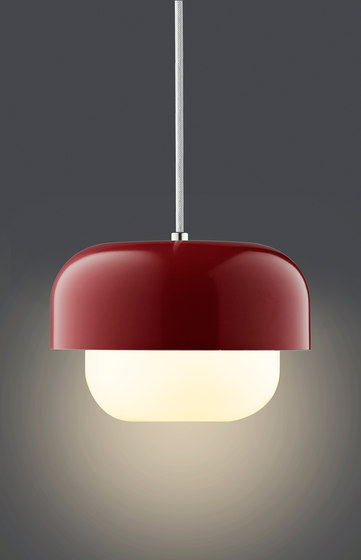 Haipot Pendant | Red Rusty Earth by DybergLarsen | Suspended lights