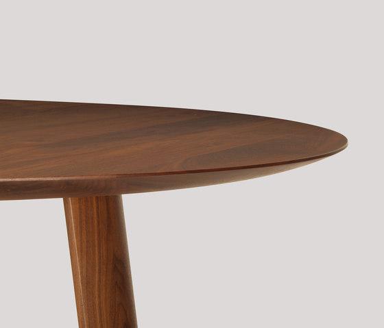 lineground round dining table di Skram | Tavoli pranzo