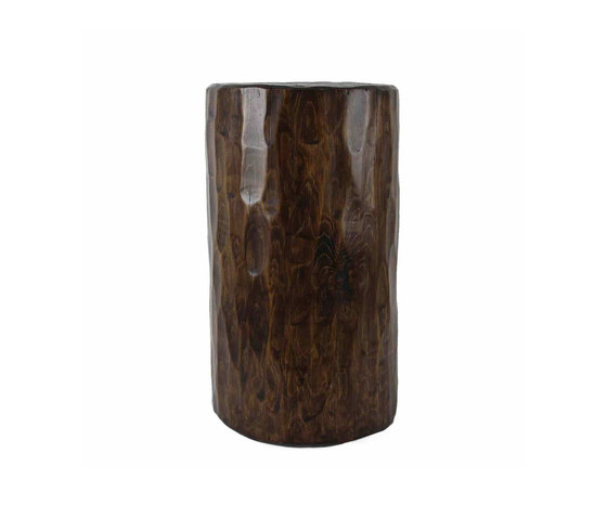 Santa Fe Solid Pine Log de Pfeifer Studio | Mesas auxiliares