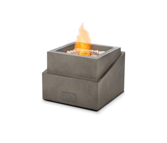 Step fire pit garden fire pits from ecosmart fire for Step by step fire pit