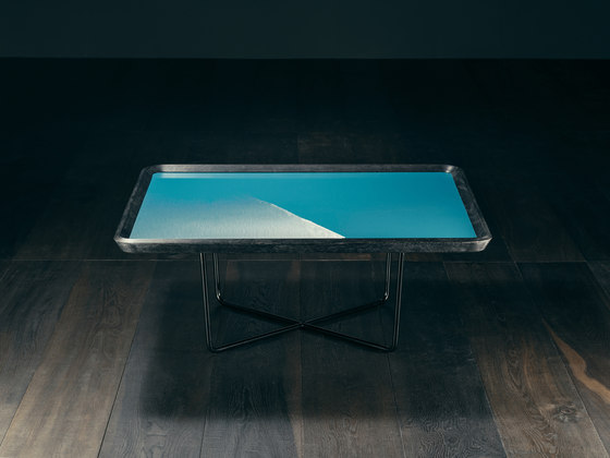 Saint Ouen – ABSINTHE Square Coffee Table de GIOPAGANI | Mesas de centro