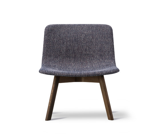 Pato Lounge Wood Base by Fredericia Furniture | Armchairs
