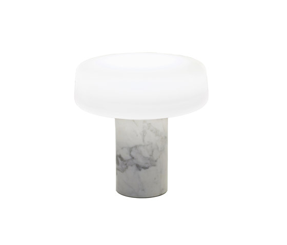 Solid Table Light - Carrara von Terence Woodgate | Allgemeinbeleuchtung