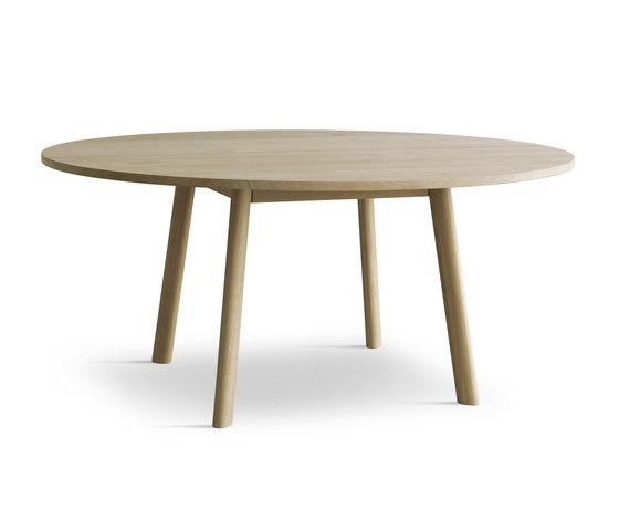 Eyes Wood Table EJ 2-T-135/160 by Erik Jørgensen | Dining tables