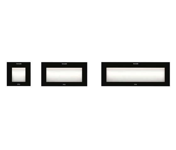 Faci Vetro 24 by Artemide Architectural | Outdoor recessed wall lights