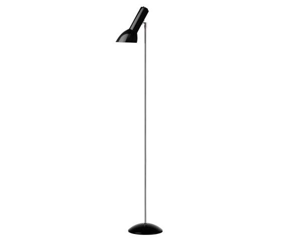 Oblique floor | Black glossy by Cph Lighting | Free-standing lights
