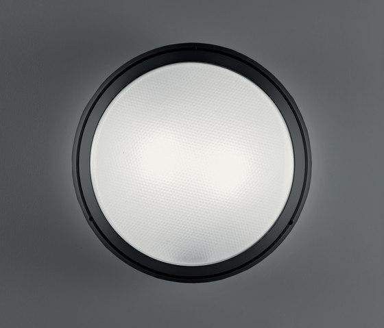 Pantarei 390 vetro nero di Artemide Architectural | Lampade outdoor parete