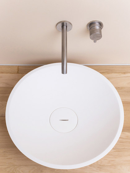Bowl 1.1   Round wash bowl with invisible siphon by COCOON   Wash basins
