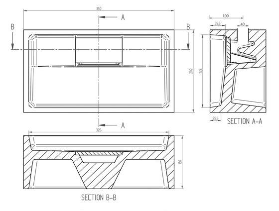 Sant Jordi I Solid surface toilet basin by COCOON | Wash basins