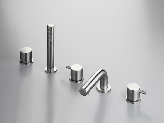 MONO SET44 | Deck mounted bath set by COCOON | Bath taps