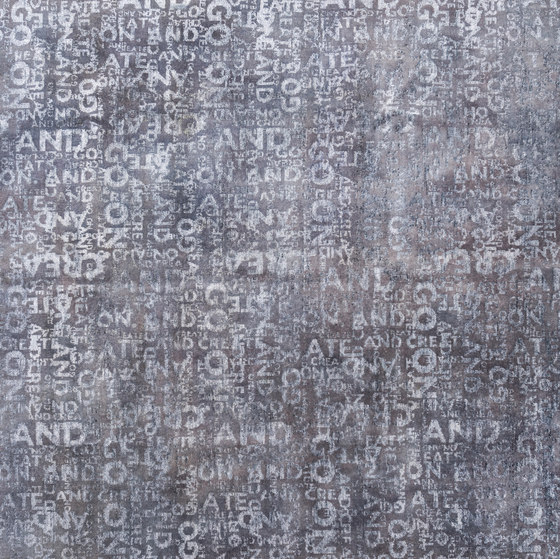 The Code light grey de kymo | Alfombras / Alfombras de diseño