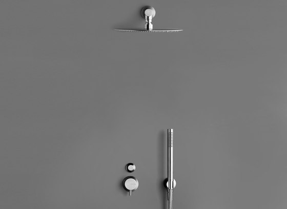 MONO SET22 Complete rain shower set by COCOON | Shower controls