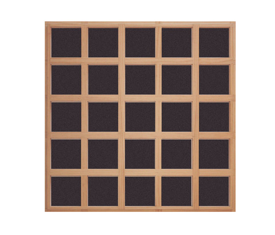 Ideawood | Grid by IDEATEC | Wood panels