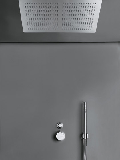 MONO SET26 XXL | Thermostatic rain shower set by COCOON | Shower controls