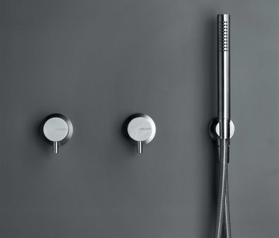 MONO SET28 | Shower set with 2 mixers by COCOON | Shower controls