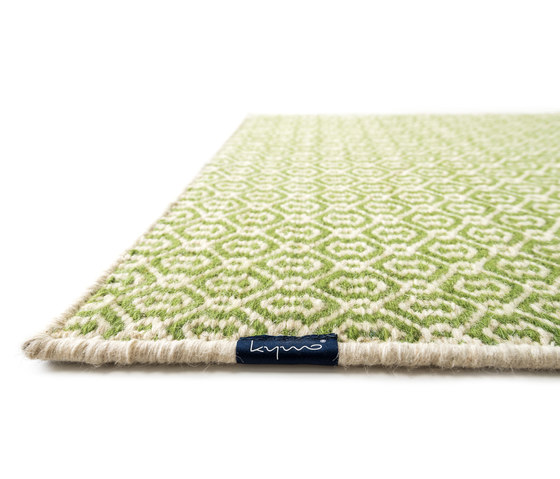 Wild Pitch white & meadow by kymo | Rugs