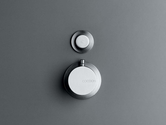 MONO 02THERM | Thermostatic shower/bath mixer with diverter by COCOON | Wash basin taps