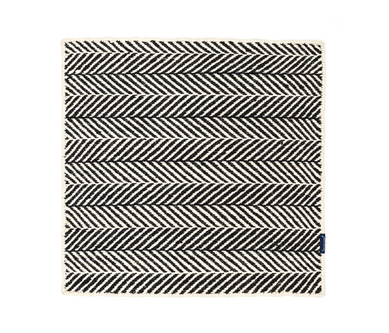 Amen Break white & black by kymo | Rugs